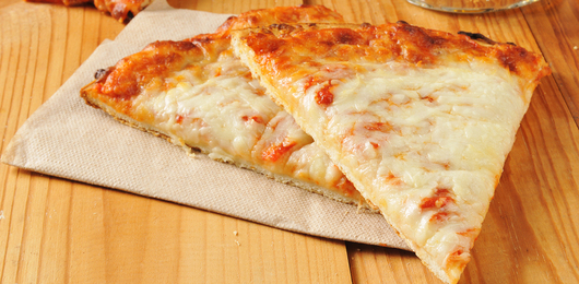 Free 2 Slices Of Cheese Pizza Canned Drink